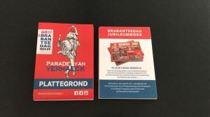 uitvouwbaar plattegrondje Brabantsedag Heeze 2017