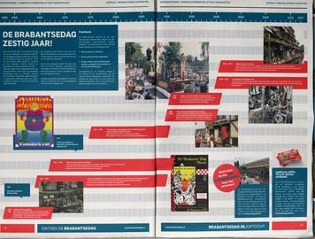 Brabantsedag Krant miekevanos.com tijdlijn 60 jaar Brabantsedag