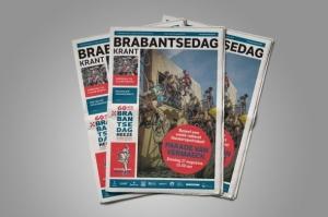 Brabantsedag Krant, Harriët Bernts, Marie-José Dekkers, Ruud van Lierop, Elke van Berkom, Mieke van Os. Tableaux.
